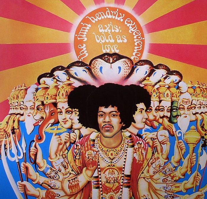 Jimi Hendrix, Dragonflies and Beaches